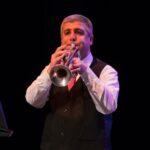 Rani Elias playing trumpet